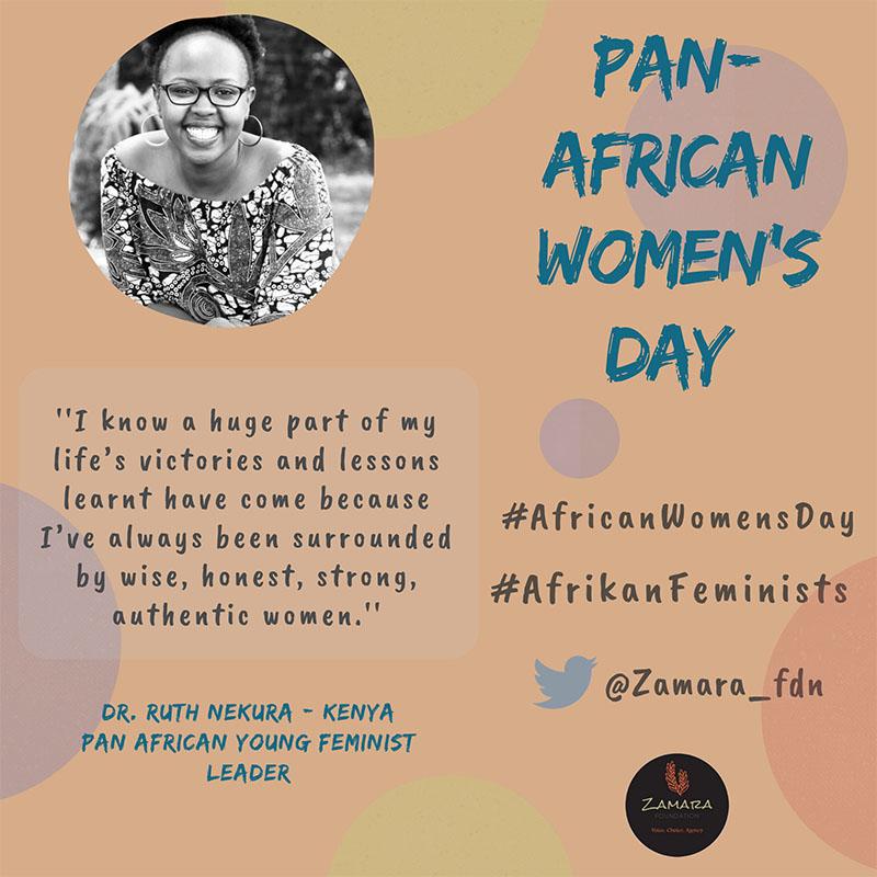 Afrikan Feminists qoute 10 Dr. Ruth Nekura