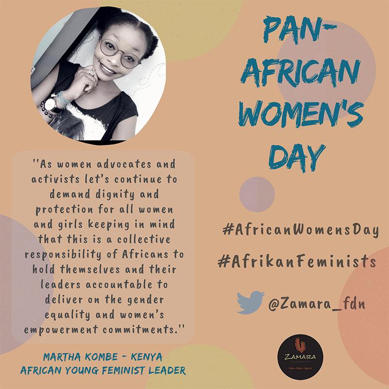 Afrikan Feminists quote 12 Martha Kombe