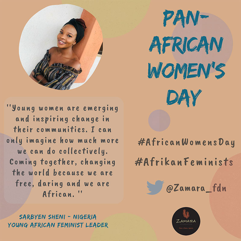 Afrikan feminists quote 1 Sarbyen